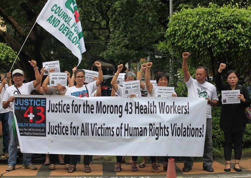Sandiganbayan clears military, police officers in 'Morong 43' case