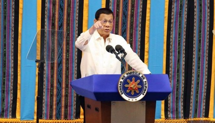 Duterte said he is still studying the security of tenure bill, which has been transmitted to his desk for signature.