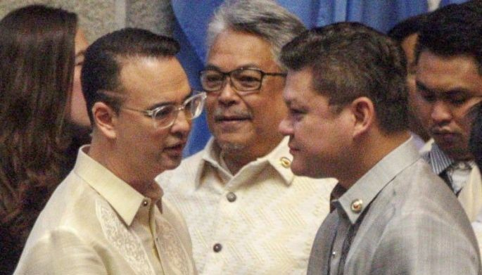 Cayetano, a former senator and foreign affairs secretary, won overwhelmingly over his lone opponent for the speakership, Manila Rep. Bienvenido Abante, whom the majority decided to support as minority leader over the weekend.