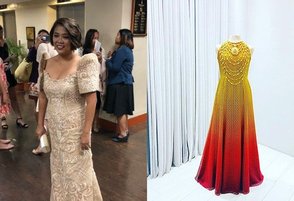 In photos: Designers share preview of SONA 2019 red carpet outfits