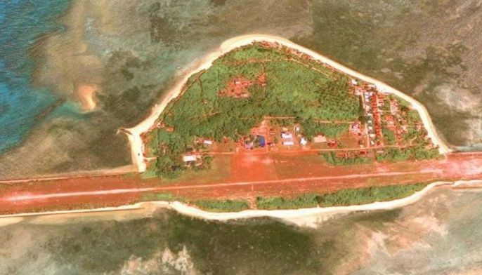 The Philippines has been repairing a dilapidated runway on Pag-asa Island in the West Philippine Sea since last year.