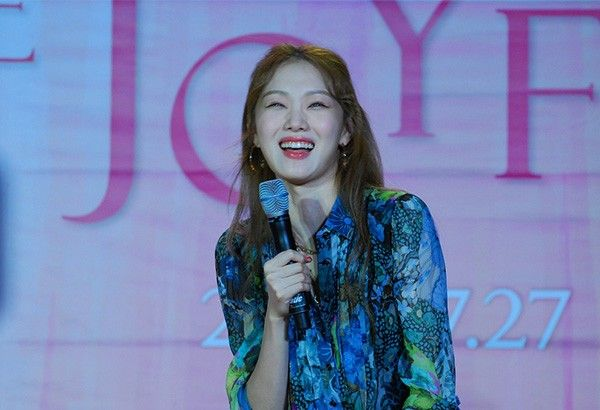 �Weightlifting Fairy� star Lee Sung Kyoung reveals plans during Manila visit
