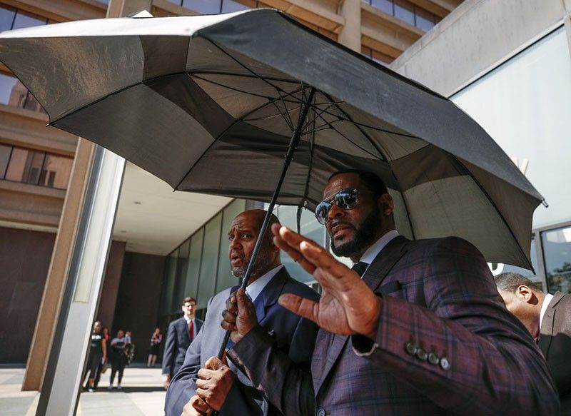 R. Kelly, the disgraced R&B star convicted of sex crimes