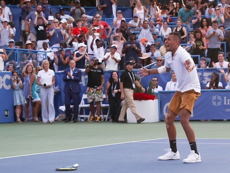 Kyrgios edges Medvedev to win ATP Washington Open title