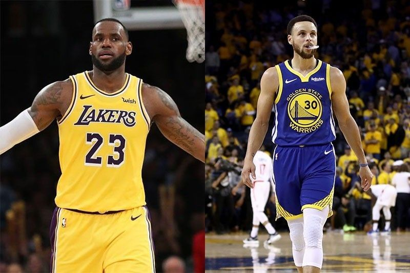 size 40 307fa d35a8 Curry, LeBron rekindle rivalry with Warriors-Lakers ...