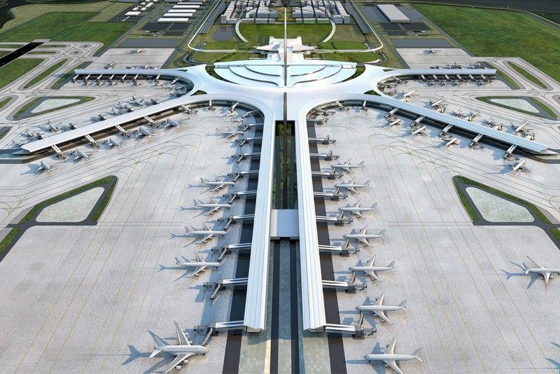Finally... a new decent airport