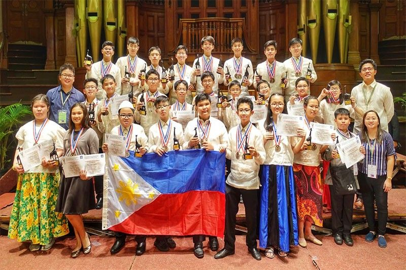 Filipino students bag 35 awards at Math contest in South Africa