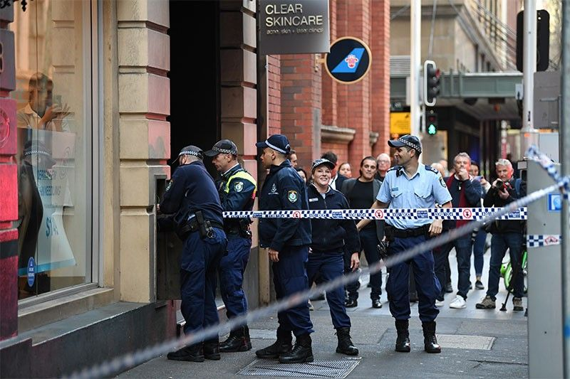 Woman stabbed in central Sydney knife rampage