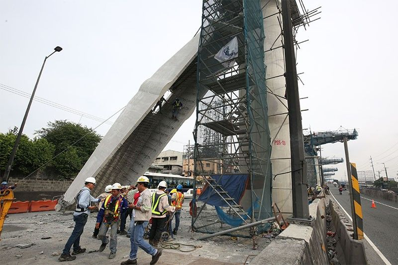 Lifting procedures for Skyway Stage 3 project to be reviewed after coping beam collapse