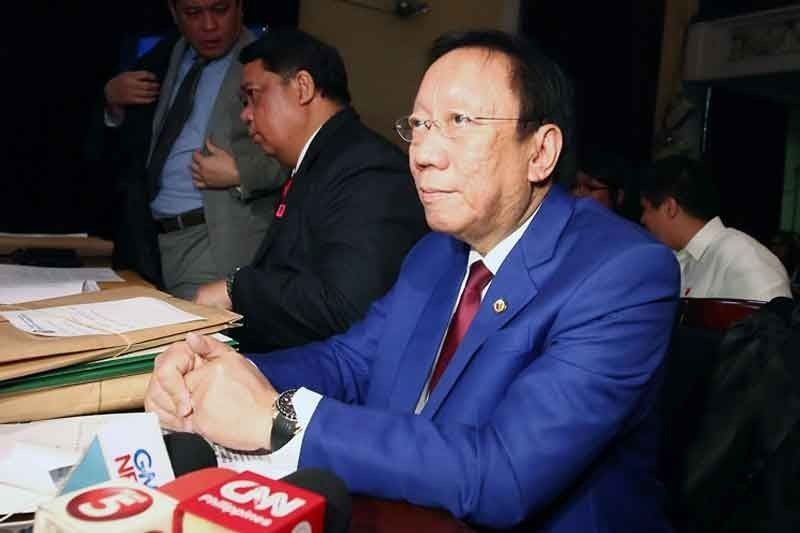 Calida in OSG appearance at sedition probe: Respondents are accused of treason