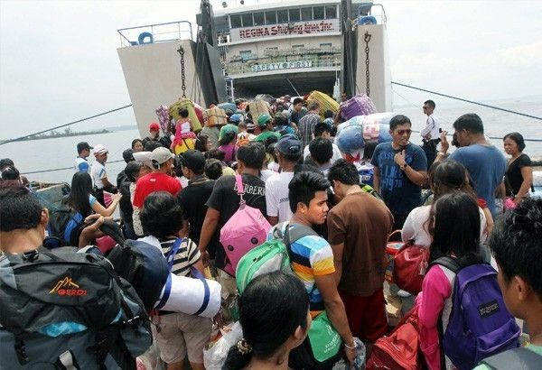 Sea trips cancelled due to 'Ineng'