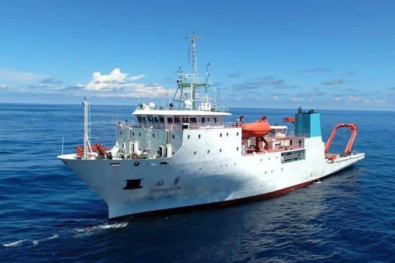 Despite announced ban, Chinese survey ship lurking in Philippine EEZ anew