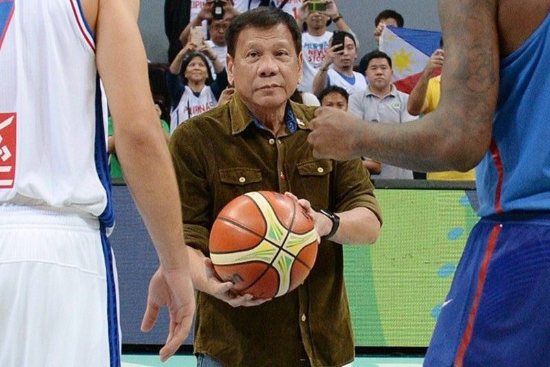 Duterte to watch Gilas' FIBA World Cup game vs Italy in China