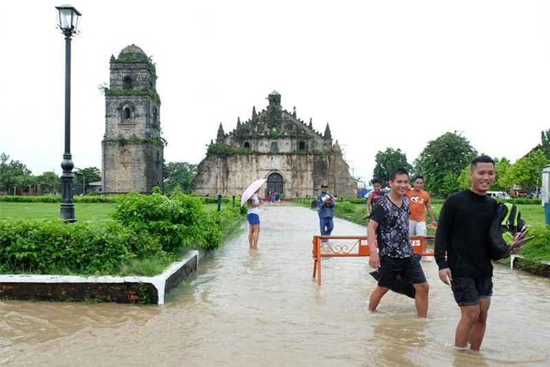 2 dead as rains batter Ilocos