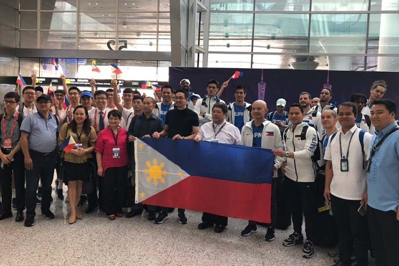 Gilas Pilipinas now in China for FIBA World Cup mission