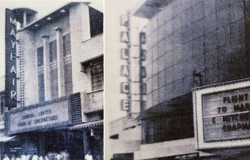 Two theaters along Ronquillo street
