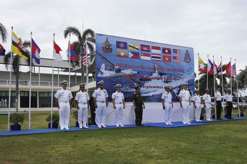 US, ASEAN maritime drills 'not directed to anyone'