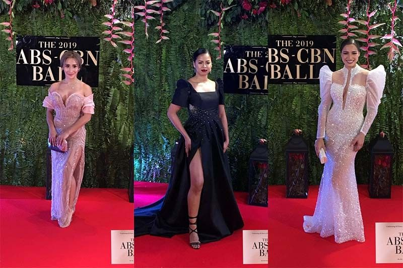 Volleyball stars spice up ABS-CBN ball