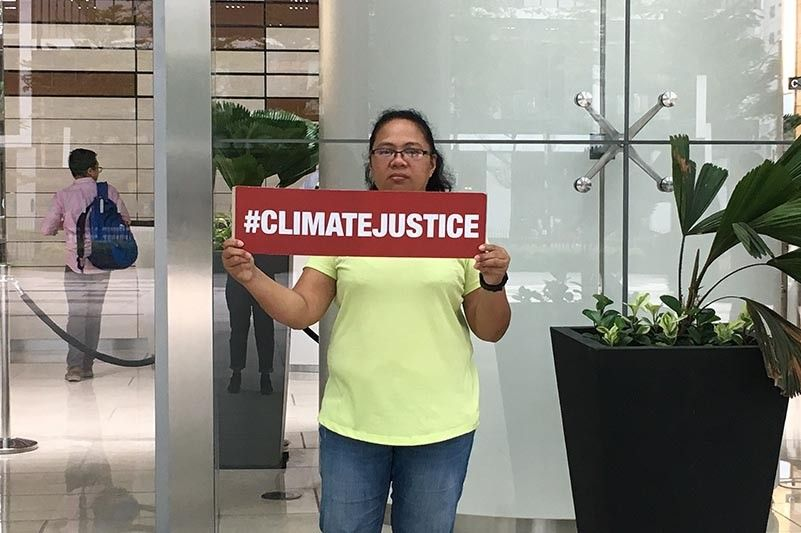 Anti-coal advocate says oil firm should answer for harm caused by climate change