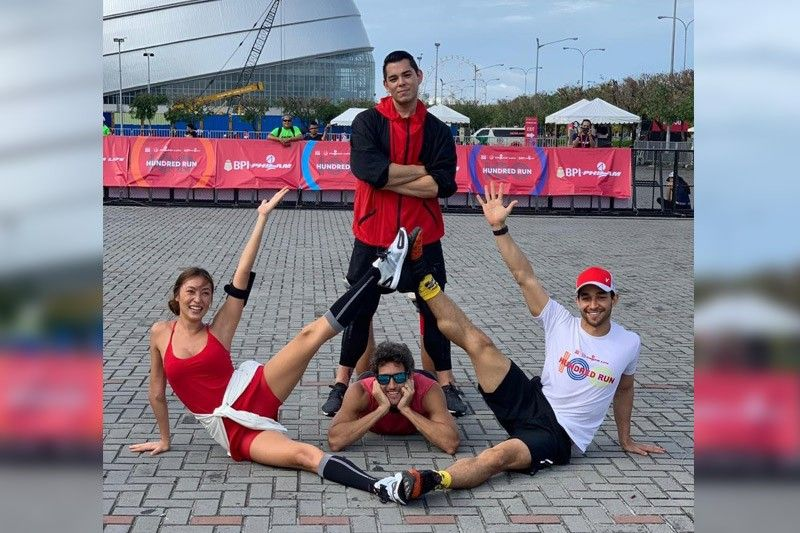 Celebs Mond, Solenn, Nico and Wil promote healthy living with Philam Vitality