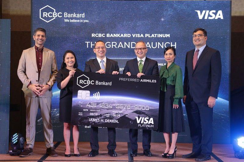 RCBC, RCBC Bankard introduce VIP traveler card in partnership with Visa