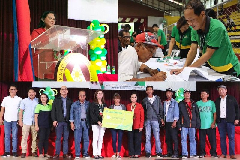 Landbank, DA launch SURE Aid Program for Tarlac rice farmers
