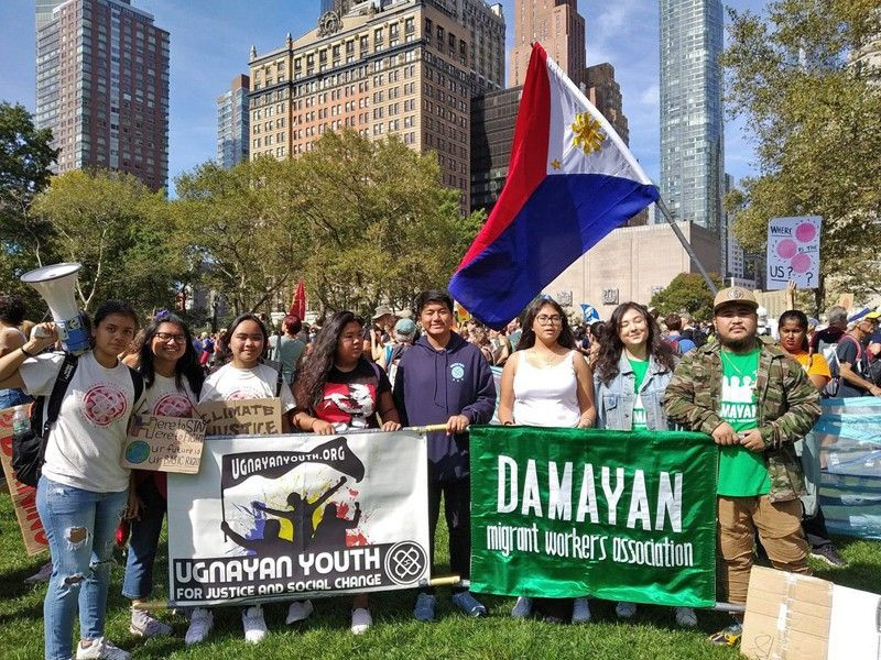 Filipino youth join global strike for climate action