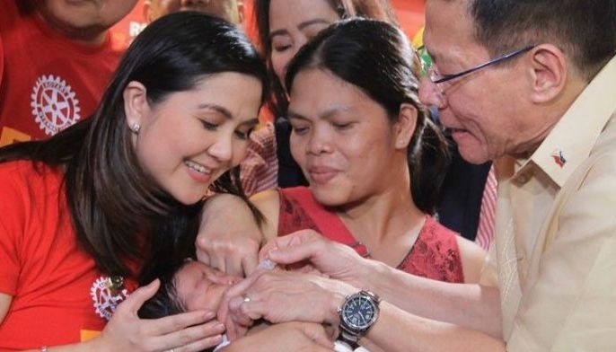 DOH Undersecretary Eric Domingo said polio remains a child�s disease as adults have stronger immune systems.