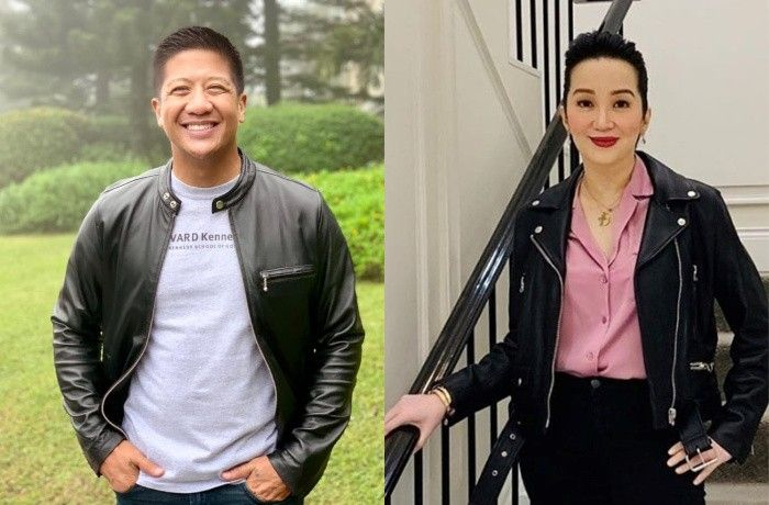 Kris Aquino and Batangas Vice Governor Mark Leviste