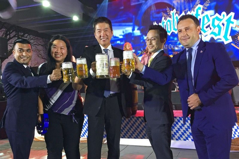 What does �Zicke, zacke, hoi, hoi, hoi!� mean? Find out at Okada's Octoberfest