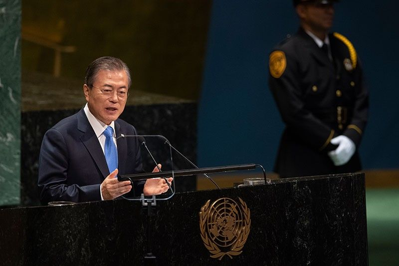 South Korean leader proposes peace zone buffering North
