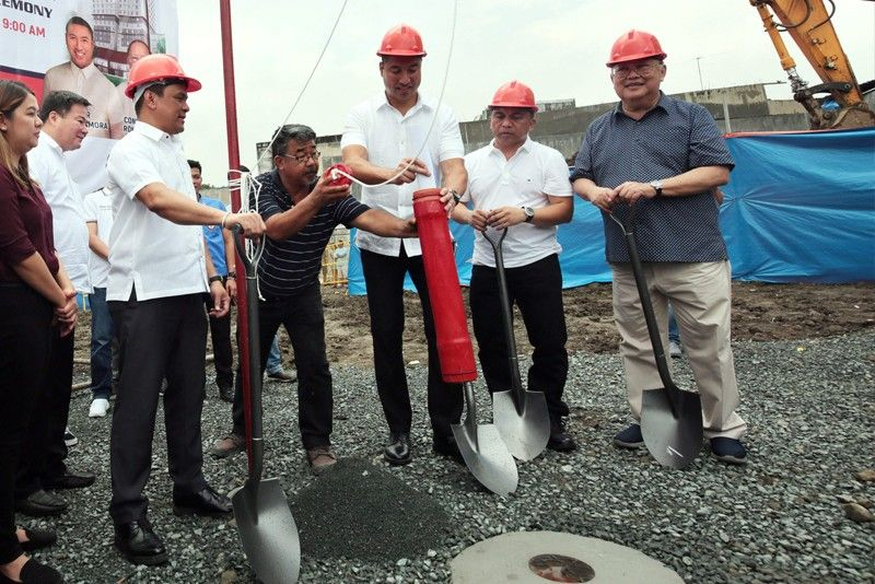 Philippines� first high-rise public housing breaks ground