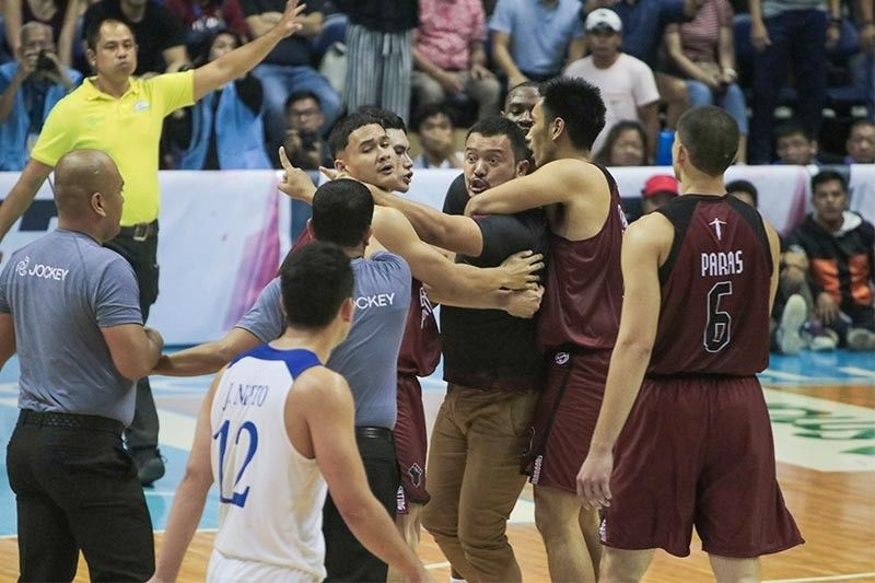 UP's Perasol remorseful after outburst in Maroons-Eagles clash