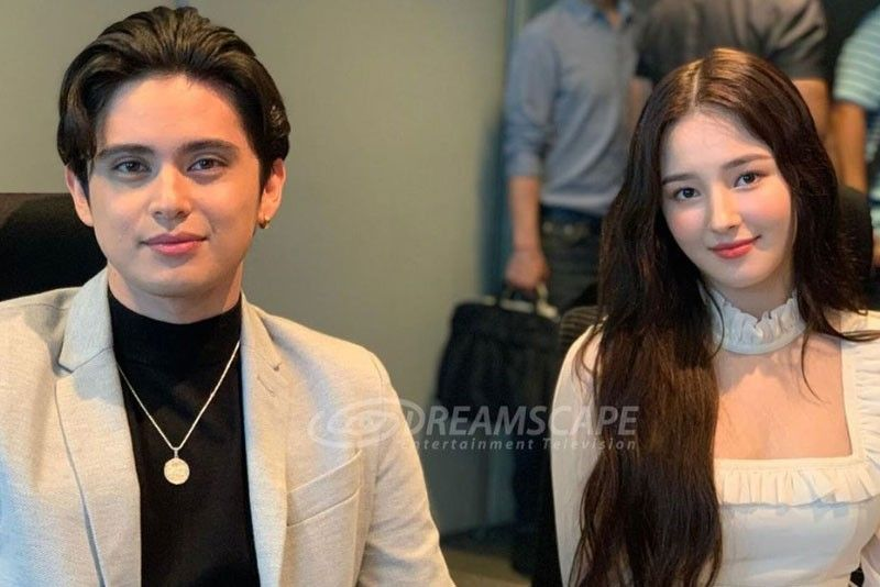 James Reid on Momoland Nancy, JaDine