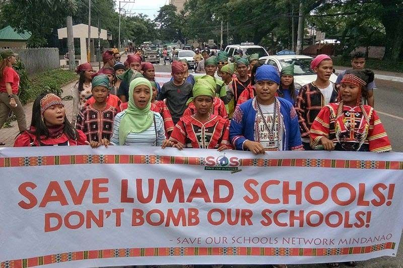 Sheltering Lumads not a crime, environmental groups stress