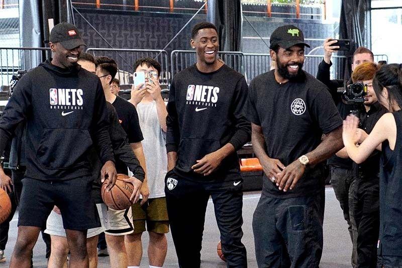 Brooklyn Nets continue preseason activities in Shanghai amid NBA-China row