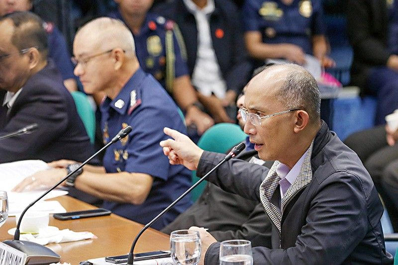 Albayalde lost PNP personnel's confidence, Magalong says