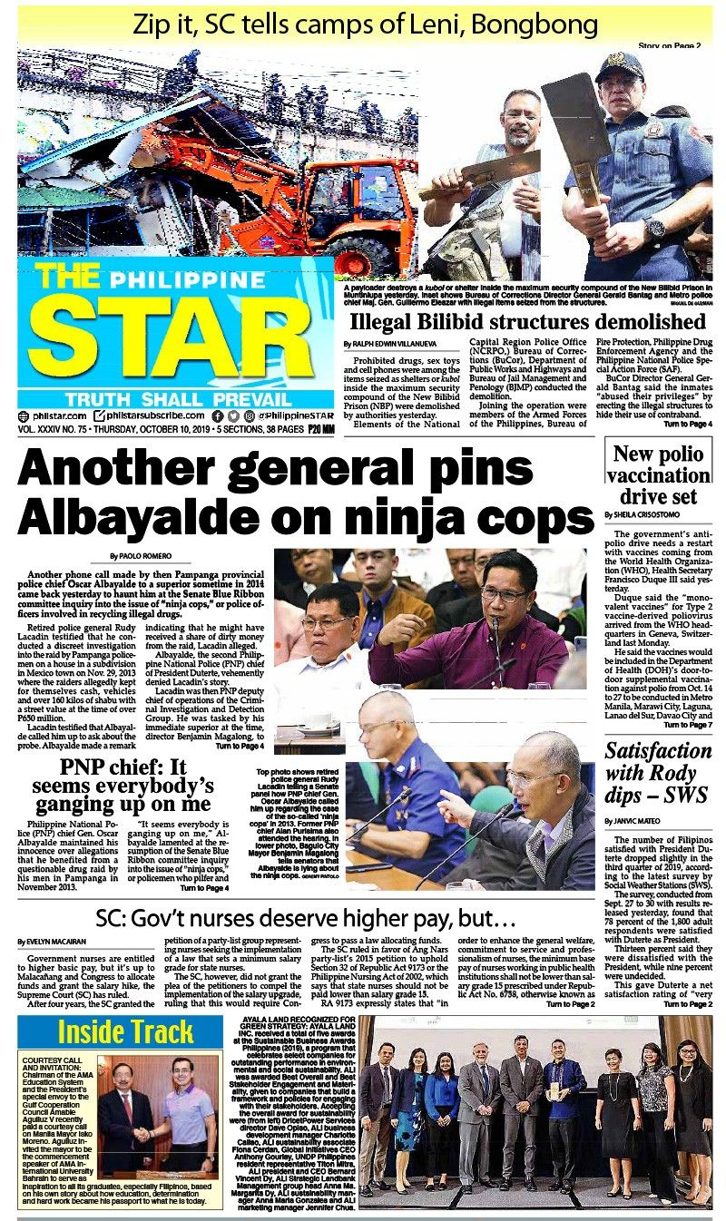 The STAR Cover (October 10, 2019)