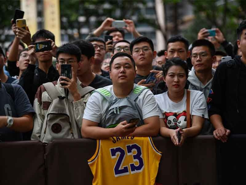 NBA's China tip-off in doubt as pressure grows on all sides