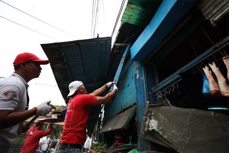 Taguig City clearing operations