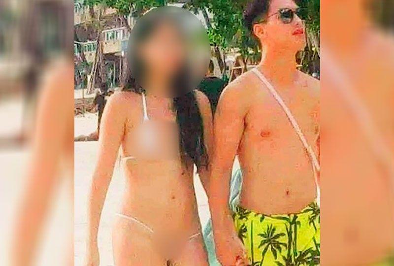 Taiwanese woman fined for wearing string bikini in Boracay