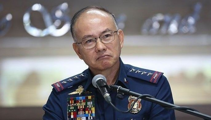 File photo shows Gen. Oscar Albayalde, who stepped down from his post as the chief of the Philippine National Police.