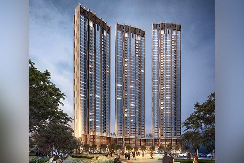 This three-tower skyscraper is shaping the skyline of C5 in Pasig City