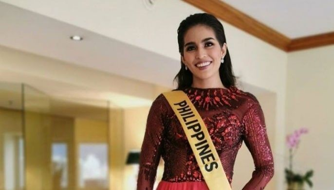 """And it's official,"" Samantha Ashley Lo said on Instagram as she finally got her sash from Miss Grand International in Venezuela."