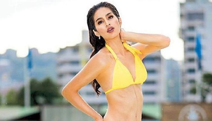 Miss Philippines Samantha Lo is seen on the Miss Grand International Facebook page as the pageant kicked off the online voting for Top 10 Best in Swimsuit category over the weekend.