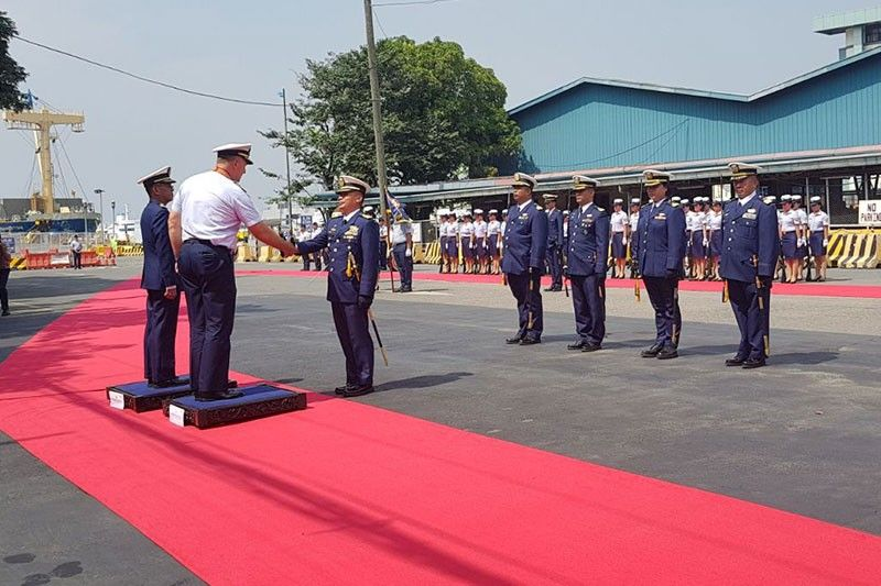 US Coast Guard chief arrives in Manila to affirm US-Philippines ties