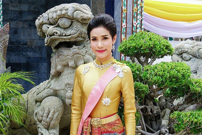 Thai king strips 'disloyal' royal consort of all titles: palace