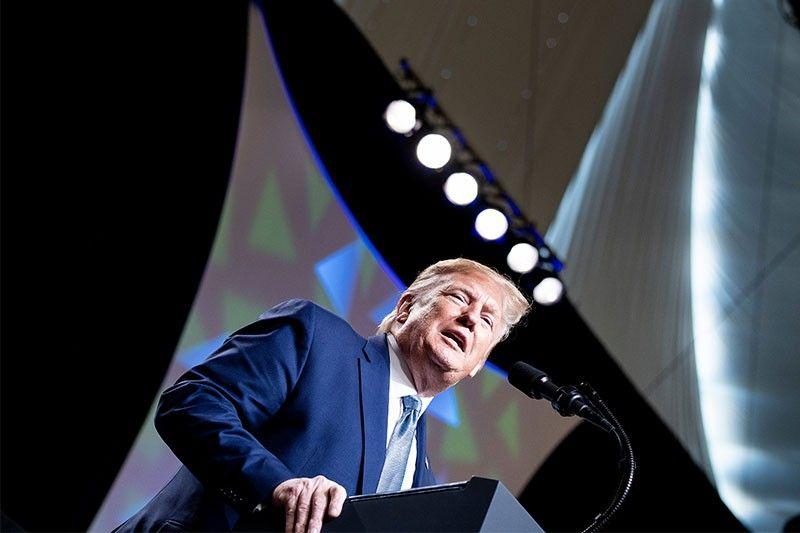 Trump vows to build a wall... in Colorado