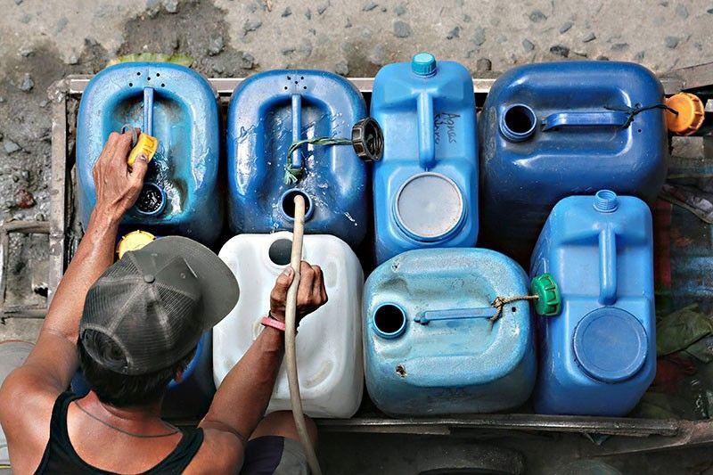 Water interruptions start