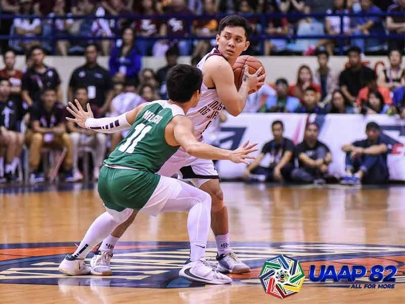 UP court general Manzo named UAAP week�s best player